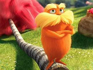 The Lorax Kicked Me In The Head!
